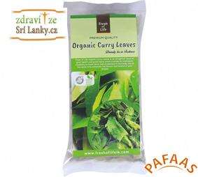 balíček 12 x Karapincha/Curry Leaves (listy kari) - balení 10 g
