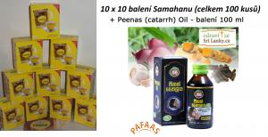 Samahan 100 ks + Peenas  (catarrh) Oil – balení 100 ml